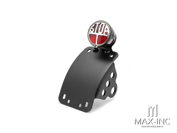 Black Curved Side Mount Miller LED Stop / Tail Light