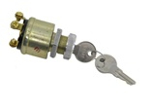 Universal 3 Position Ignition Key Switch Off-On-Start