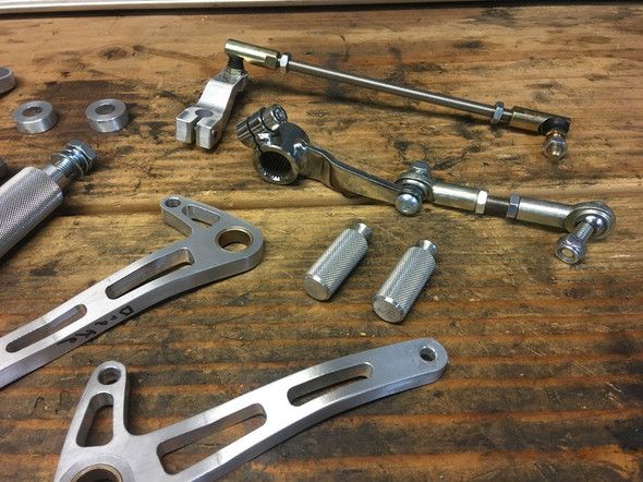 Honda CB750 SOHC Rear Set Rearset Kit  |  Complete Honda Rearset Kit