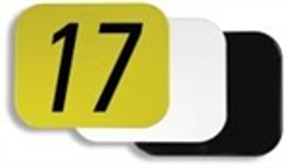 "10"" X 12"" RECTANGLE NUMBER PLATE"