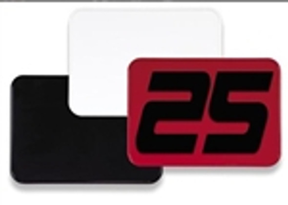 """7"""" X 10"""" NUMBER PLATE"""