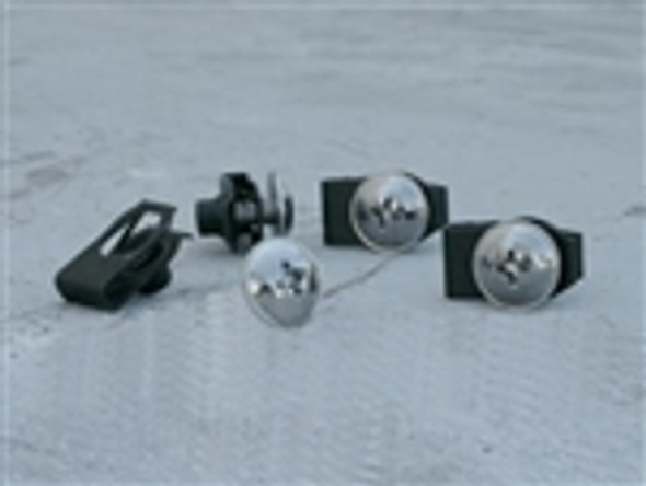 FAIRING FASTNERS M6x14MM WITH CLIP NUT (4)