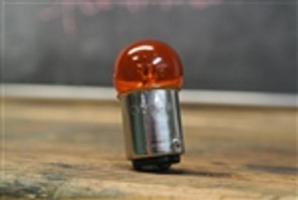 12v23/8w Dual Amber  filament bulb cafe racer aluminium housing light 12v23 8 w light replacement