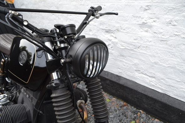 CAFE RACERS, PROJECT BIKES, HARLEY DAVIDSON, STREETFIGHTERS, TRIKES, CHOPPERS  headlight halogen h4 headlight