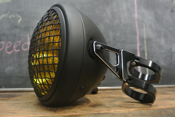 hinged shorty motorcycle headlight kit