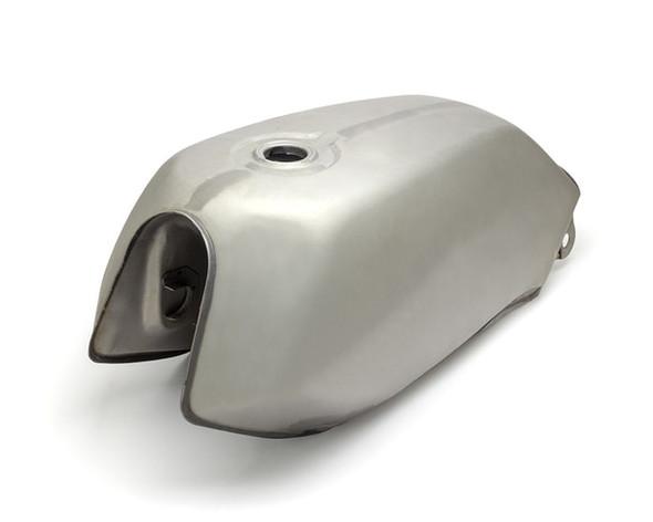 Steel Motorcycle Fuel Tank Universal Style Universal Unpainted 2.5 gal