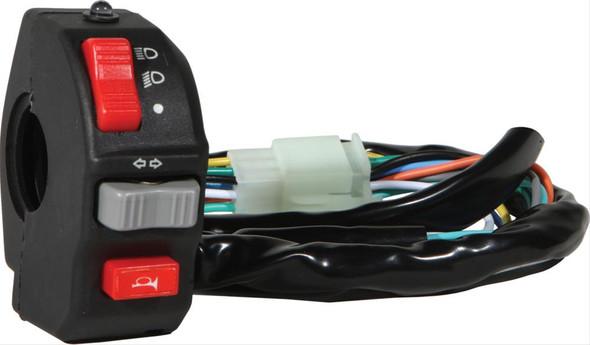 Narrow handlebar mount light switch Horn Button Hi/LO headlight