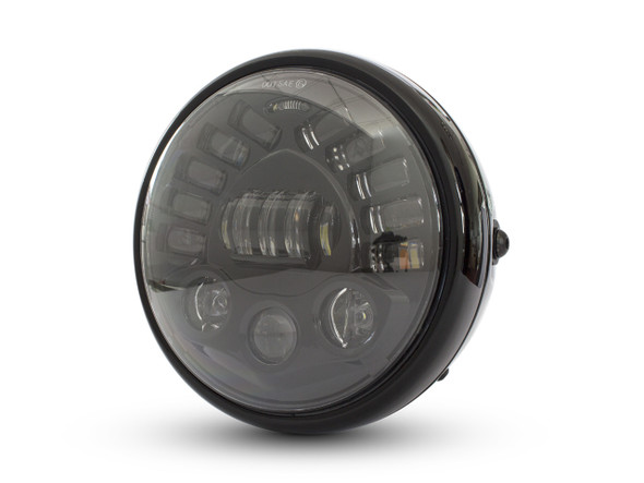 LED headlight with turn signals