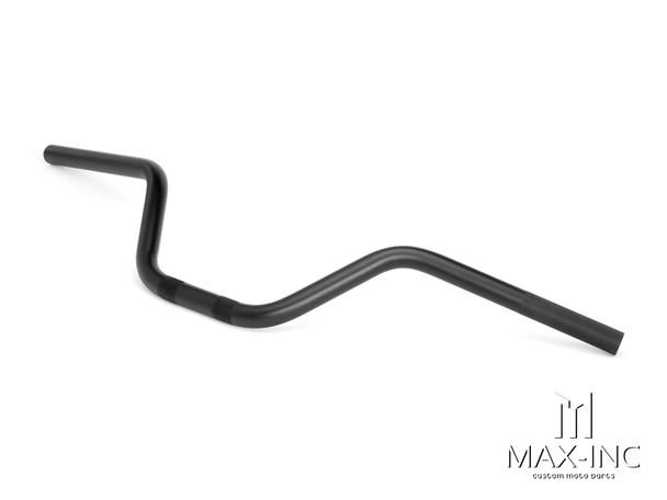 Black Alloy Cafe Racer Ape Bars - 7/8 (22mm)