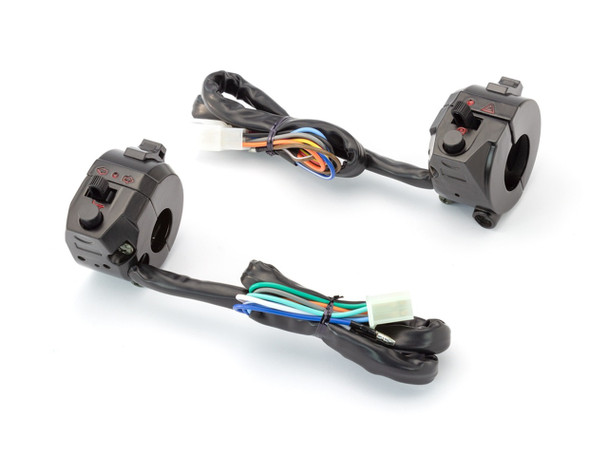 Switch Gear Complete   Left Right   Motorcycle Handlebar Control   W/throttle housing