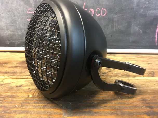 LED sharky Motorcycle Headlight kit with brakets KTM