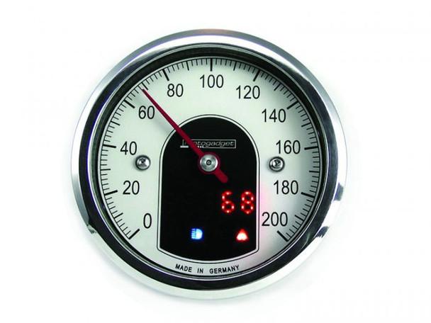 Motoscope tiny Motorcycle Motorcycle speedometer gauge (mst)