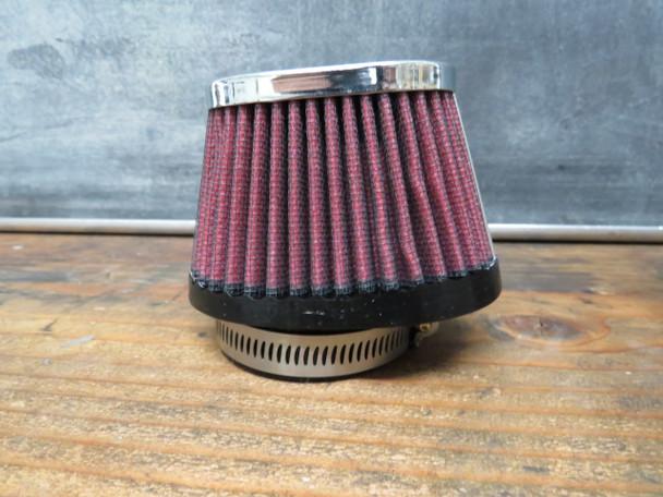 Mikuni vm30 vm32 vm34 Pod air filter Cloth Oval Tapered RED