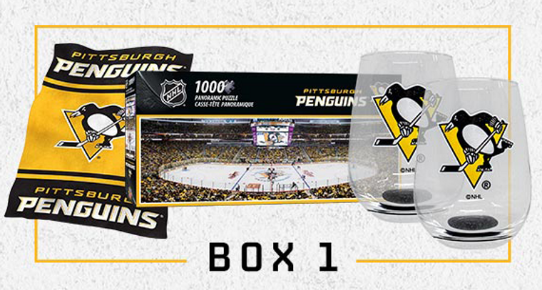 Pittsburgh Penguins TOGETHER AT HOME BOX 1