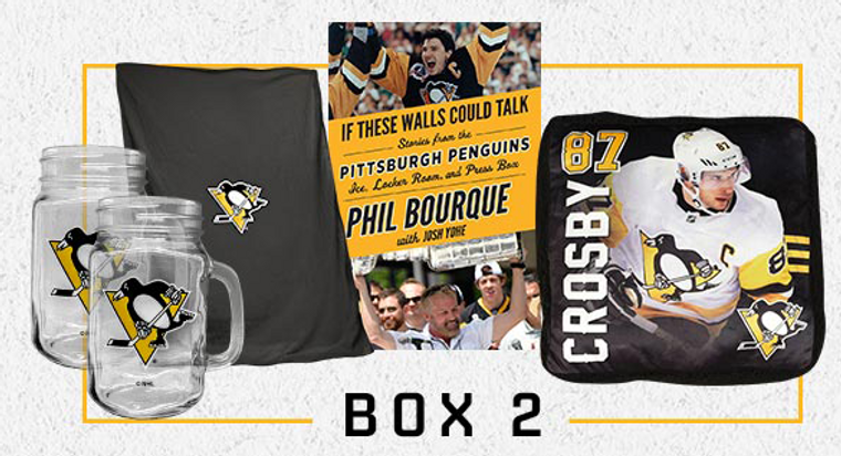Pittsburgh Penguins TOGETHER AT HOME BOX 2