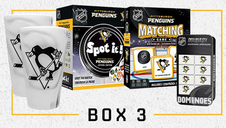 Pittsburgh Penguins TOGETHER AT HOME BOX 3