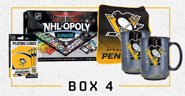 Pittsburgh Penguins TOGETHER AT HOME BOX 4