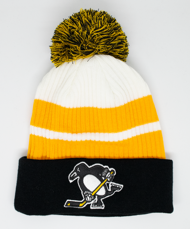 Pittsburgh Penguins- YOUTH SPECIAL EDITION CUFFED POM KNIT HAT