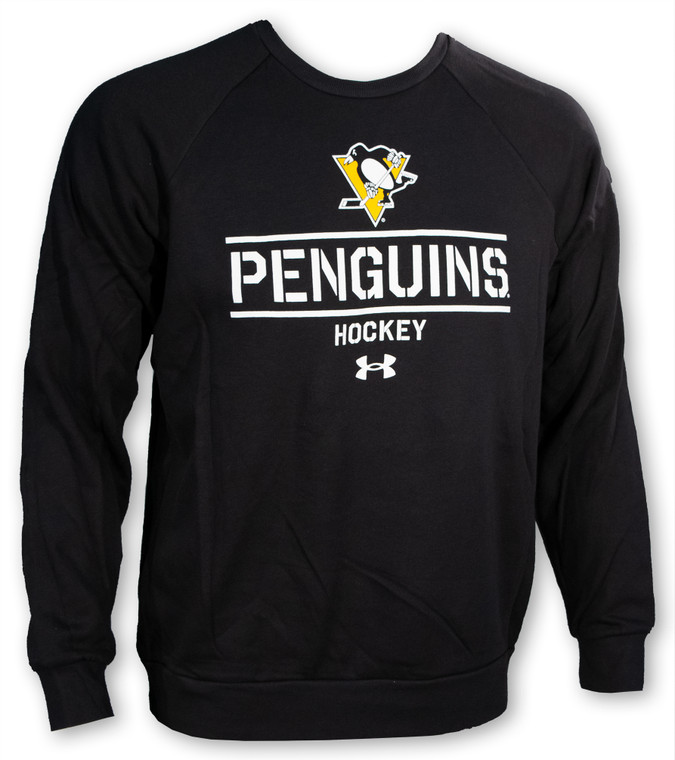 Pittsburgh Penguins- MENS UNDER ARMOUR ALL DAY CREW