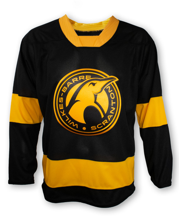 Pittsburgh Penguins- WILKES-BARRE THIRD JERSEY