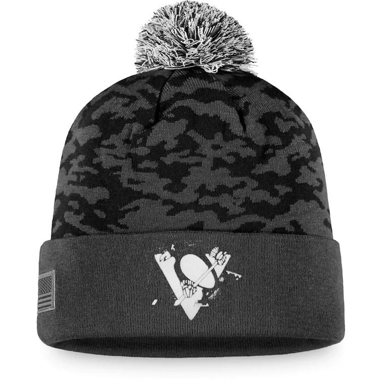 Pittsburgh Penguins- FANATICS MILITARY APPRECIATION KNIT CAP