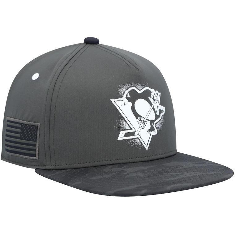 Pittsburgh Penguins- MILITARY APPRECIATION SNAPBACK CAP