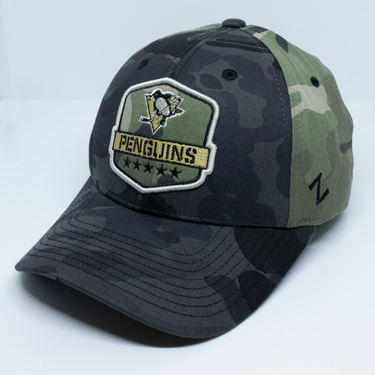 Pittsburgh Penguins- MILITARY APPRECIATION COMPETITOR CAP