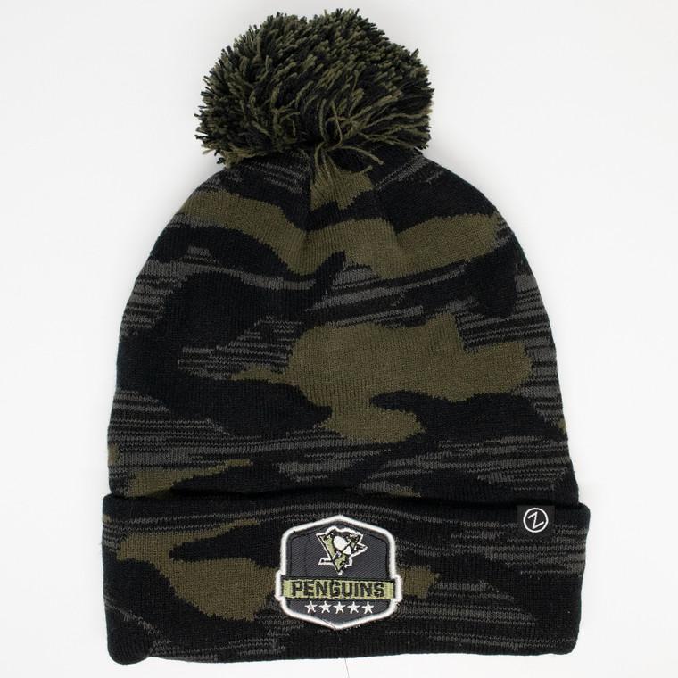 Pittsburgh Penguins- MILITARY APPRECIATION KNIT CAP
