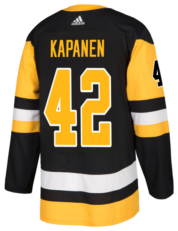 Pittsburgh Penguins- AUTHENTIC HOME KAPANEN JERSEY