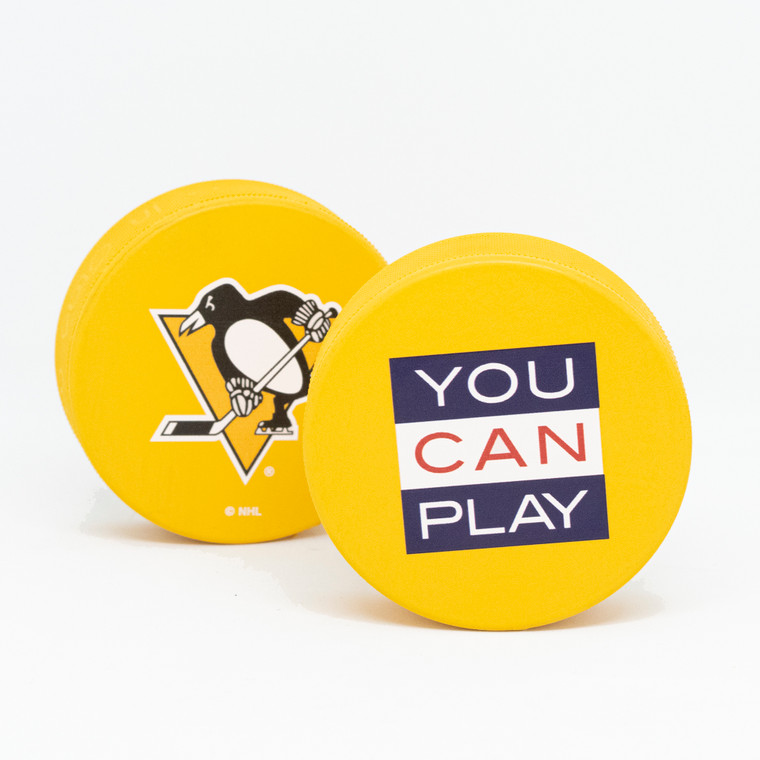 PITTSBURGH PENGUINS PUCK YOU CAN PLAY