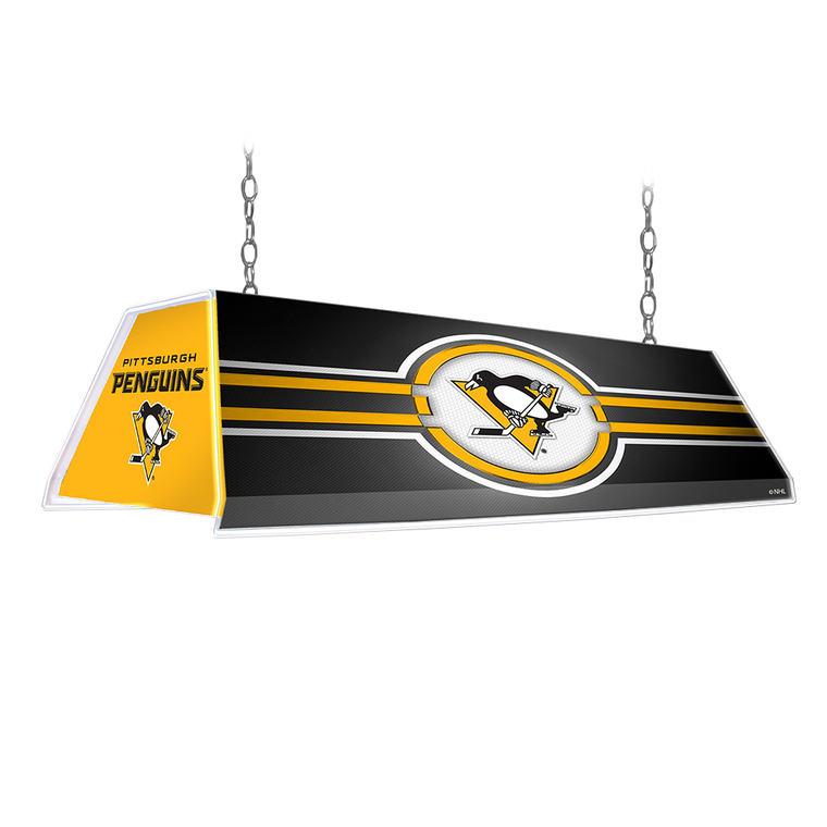 Pittsburgh Penguins: Edge Glow Pool Table Light