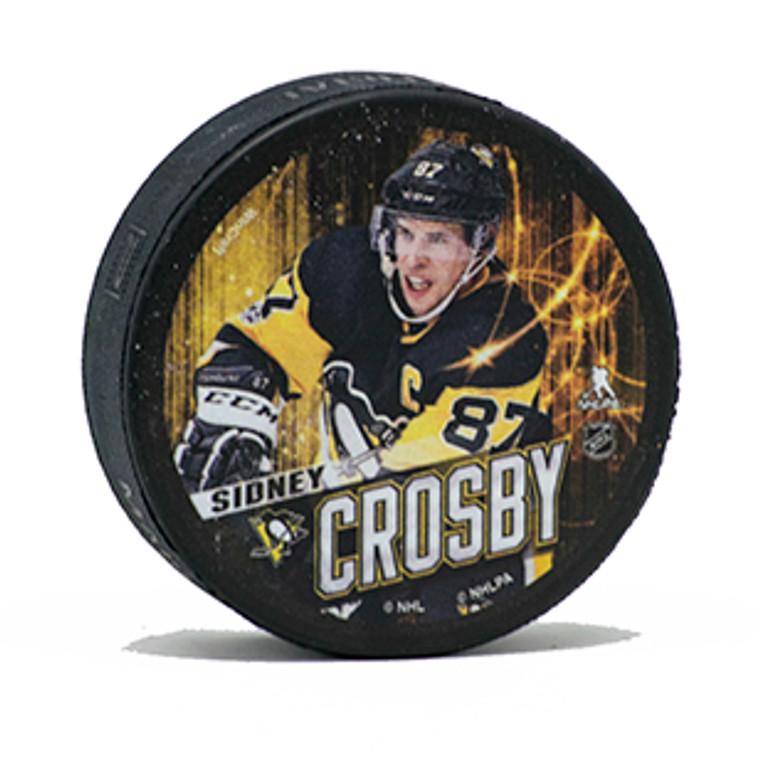 Pittsburgh Penguins PUCK CROSBY