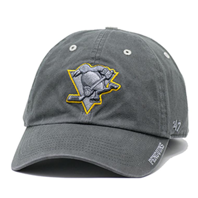 Pittsburgh Pengiuns Men's CAP CHARCOAL ICE