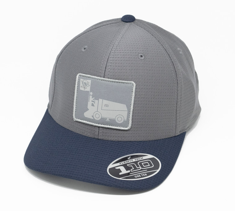 Pittsburgh Pengiuns Men's  CAP ZAMBONI GREY