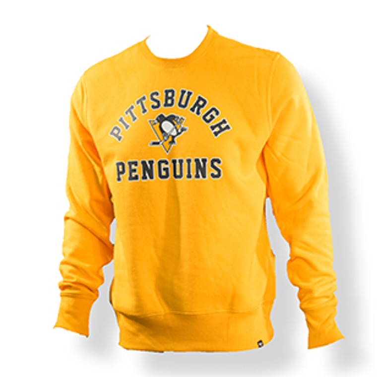 Pittsburgh Penguins Men's CREW GOLD HEADLINE