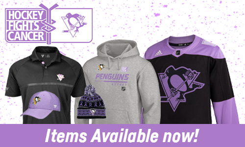 Hockey Fights Cancer Items Available Now!