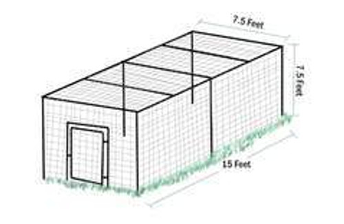 Enclosed Steel Hex Fence Kits