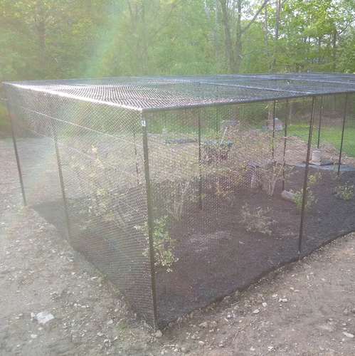 Enclosed Garden Fence Kits