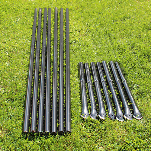Heavy Duty Line Posts With No Dig Sleeves