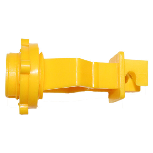 """1"""" T-Post Insulator - Yellow, 25 or 250 pack"""