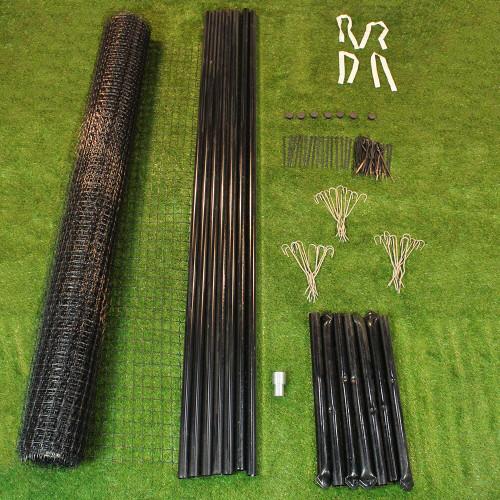 7.5' High Extra Strength Deer Fence Kit