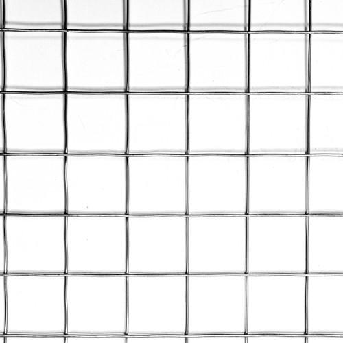 "4' x 100' 18 Gauge Galvanized Stainless Steel 304A Welded Wire 0.75"" x 0.75"" Mesh"