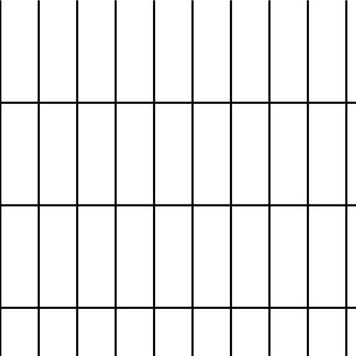 "Scratch & Dent - 6' x 100' Welded Wire-14 ga. galvanized steel core; 12 ga after Black PVC-Coating, 2"" x 4"" Mesh"