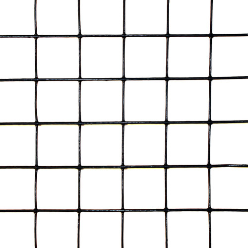 """Scratch & Dent - 8' x 100' Welded Wire Fence-14 ga. galvanized steel core;12 ga after Black PVC-Coating, 2"""" x 2"""" Mesh"""