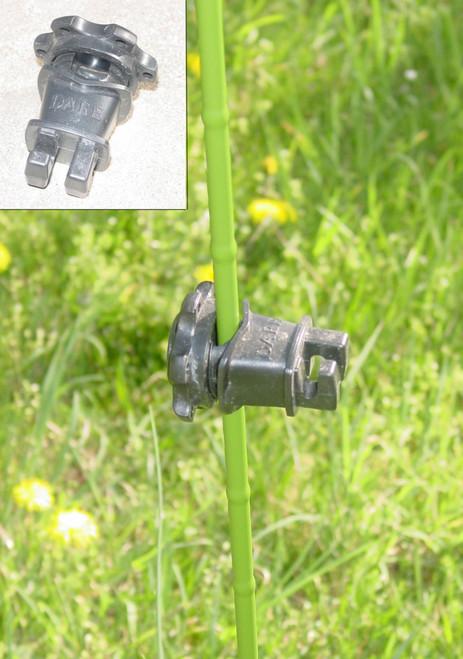Electric Fence Equipment: Fence Insulator: 3/8 th  inch Insulators 60 pk