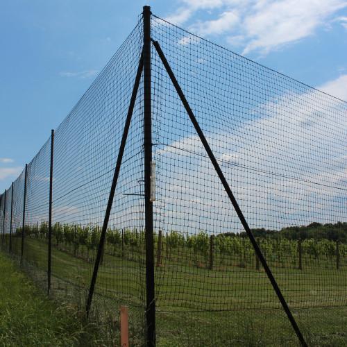 8' Heavy Duty Deer Fence Corner