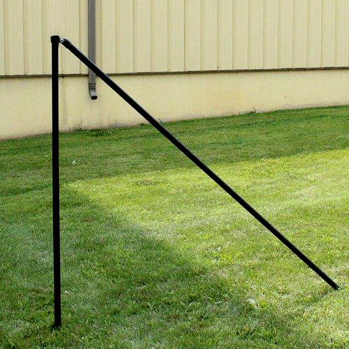 5' H Dog Fence Heavy End (2 Pack)