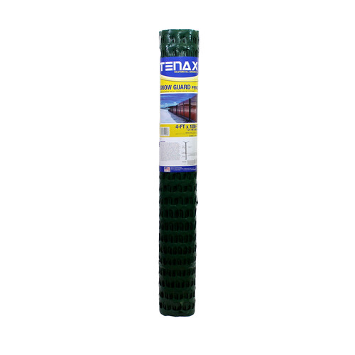 4' x 100' Tenax Snow Guard Fence- Green