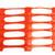 4' x 100' Tenax Nordic Plus II Snow Fence- Orange