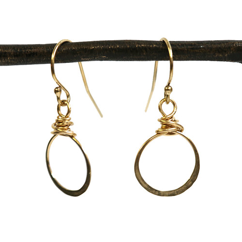 Bebe Hoop Earrings